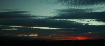 Phoenix at sunset. Phoenix Arizona city skyline at sunset royalty free stock photography