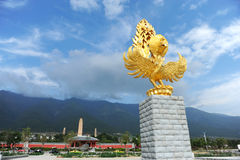 Phoenix, symbol of luck in China Royalty Free Stock Image
