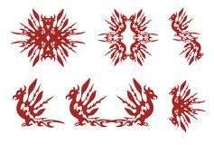Phoenix symbols Stock Images