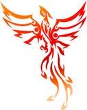 Phoenix-Tätowierung Stammes- Lizenzfreies Stockbild