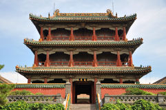 Phoenix Tower, Shenyang Imperial Palace, China. Phoenix Tower (Fenghuang Tower) in the center of Shenyang Imperial Palace (Mukden Palace), Shenyang, Liaoning royalty free stock photo