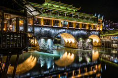 Phoenix town. In Hunan province Royalty Free Stock Images