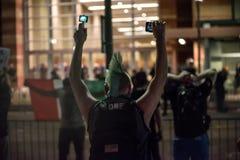 Phoenix Trump Rally Protest royalty free stock photos
