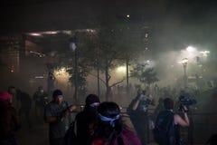 Phoenix-Trumpf-Sammlungs-Protest Stockfotografie