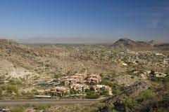 Phoenix und Scottsdale, AZ Lizenzfreie Stockfotografie
