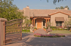 Phoenix Upscale Home Royalty Free Stock Photography