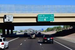 Phoenix, USA - 7. Juli 2016: die zwischenstaatlichen 17 lizenzfreie stockfotos
