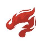 Phoenix vector illustration Royalty Free Stock Photography