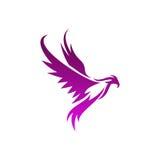 Phoenix-Vektor-Schablone Stockfotos