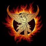 Phoenix in Vlam vector illustratie