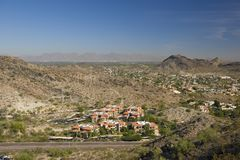 Phoenix y Scottsdale, AZ Fotografía de archivo libre de regalías