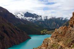 Phoksundo Lake in Dolpo, Nepal Royalty Free Stock Photography