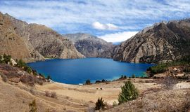 Phoksundo Tal or Ringmo Lake - Western Nepal Stock Images