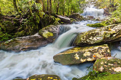 Phon Phop waterfall Stock Image