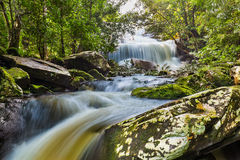 Phon Phop waterfall Royalty Free Stock Photos