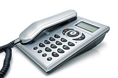 Phone. Digital telephone with liquid-crystal display and speakerphone Royalty Free Stock Images
