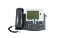 Phone. Office phone isolated on the white background Royalty Free Stock Image