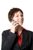 On the phone Royalty Free Stock Photos