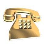 Phone. 3D illustration stock illustration