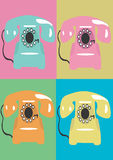 Phone. A  illustration of phones Royalty Free Stock Images