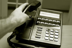 Phone. Office phone stock image