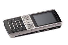 Phone 6. Fashionable mobile phone on white background Royalty Free Stock Image
