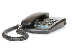 Phone. Telephone set on a white background stock photo