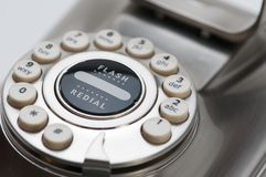 Phone. Close up of phone receiver Royalty Free Stock Photos