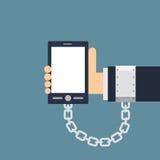 Phone Addiction Stock Images