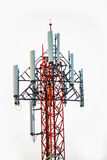 Phone antenna. On white background.it is isolate at thailand Royalty Free Stock Photos