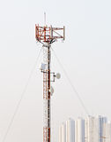Phone antenna pole Stock Photography