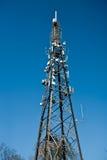 Phone Antenna telecomunications mast Royalty Free Stock Image