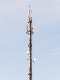 Phone antenna tower Stock Photography