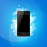 Phone And Bokeh Stock Photography