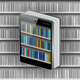 Phone Book on Library background Royalty Free Stock Images