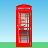 Phone Booth stock illustration