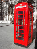 The Phone Booth. The classical London's phone booth. Excellent colors Royalty Free Stock Photo