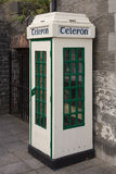 Phone booth. Of yesteryear Royalty Free Stock Image