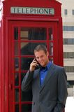 Phone Booth Royalty Free Stock Photography