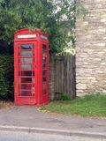 Phone Booth. In the Cotswolds Stock Photography
