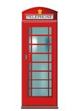 Phone booth vector stock photo