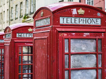Phone Booths Stock Image