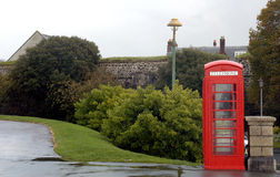 Phone box. In Plymouth stock photos