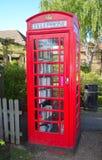 Phone Box Book Exchange Stock Image