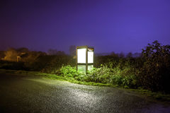 Phone Box Cley Next the Sea Stock Images