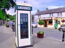 Phone Box Ireland Stock Image