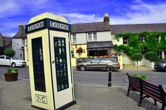 Phone Booth Ireland Stock Images