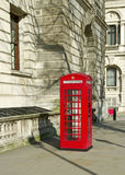 Phone box in London. Stock Photo