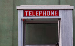 American Phone Box Stock Images
