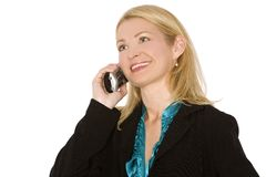 Phone business Royalty Free Stock Photo